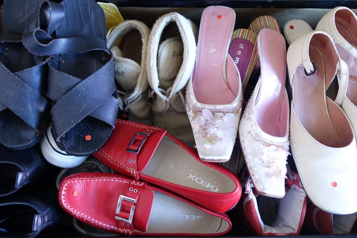 Schuh-Grauen